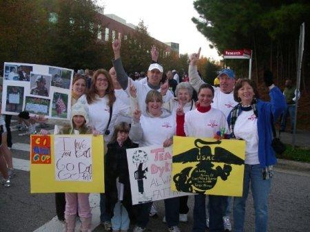 Team Dykeman at City of Oaks Marathon
